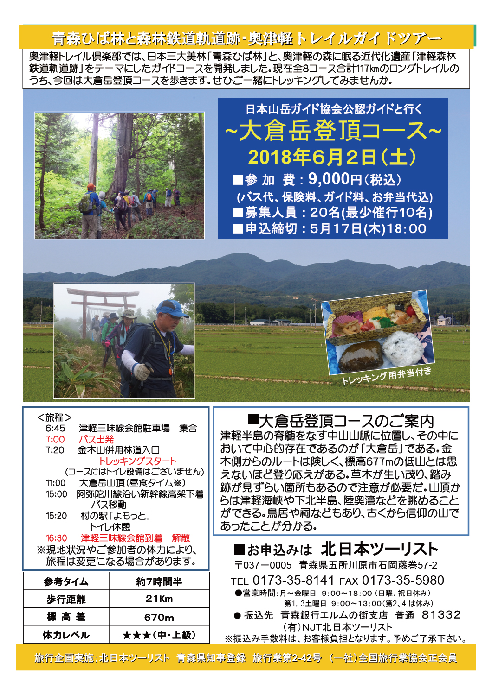 大倉岳登頂コース